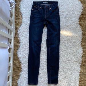 "MADEWELL 9"" Hi-Rise Skinny Jeans 25t"